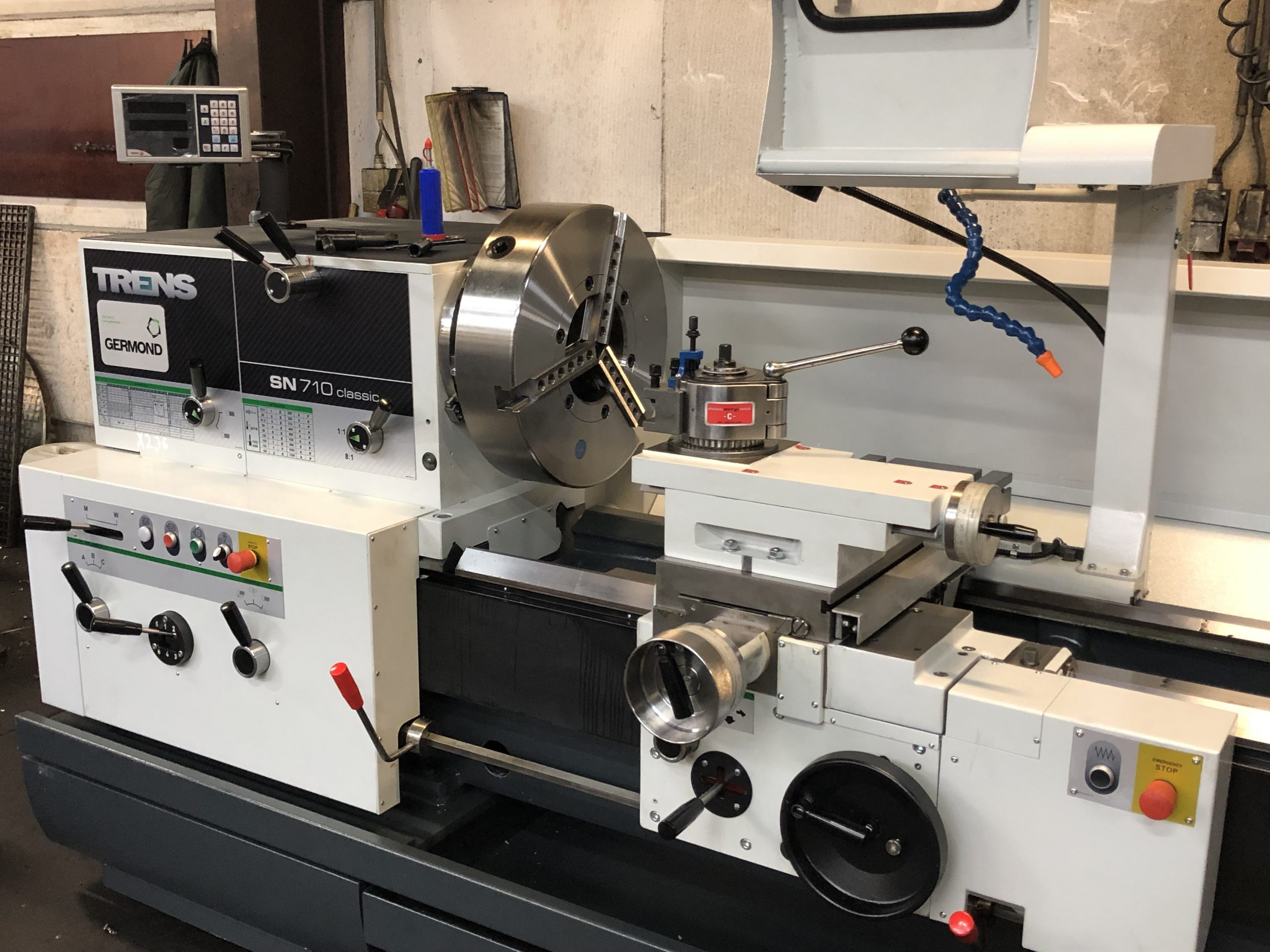 Hertecant Flanges invests in new conventional lathe machine.